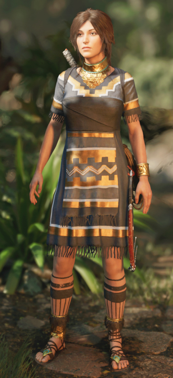 how to change outfits in tomb raider