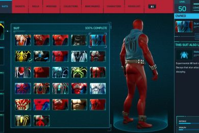 Marvel's Spider Man Suits and Costumes Guide