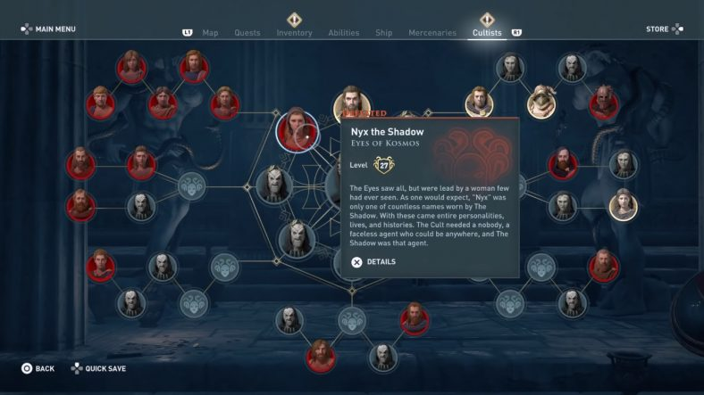 Assassin's Creed Odyssey Cult of Kosmos Guide