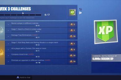 Fortnite Season 6 Week 3 Challenges Guide