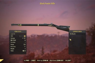 Fallout 76 Weapons and Armor Mods
