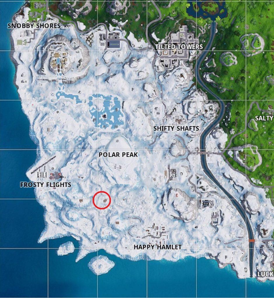 fortnite season 7 week 3 challenges guide - where are the ski lodges in fortnite season seven