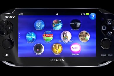 Sony PS Vita Halting