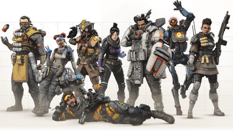 Resultado de imagen de apex legends characters