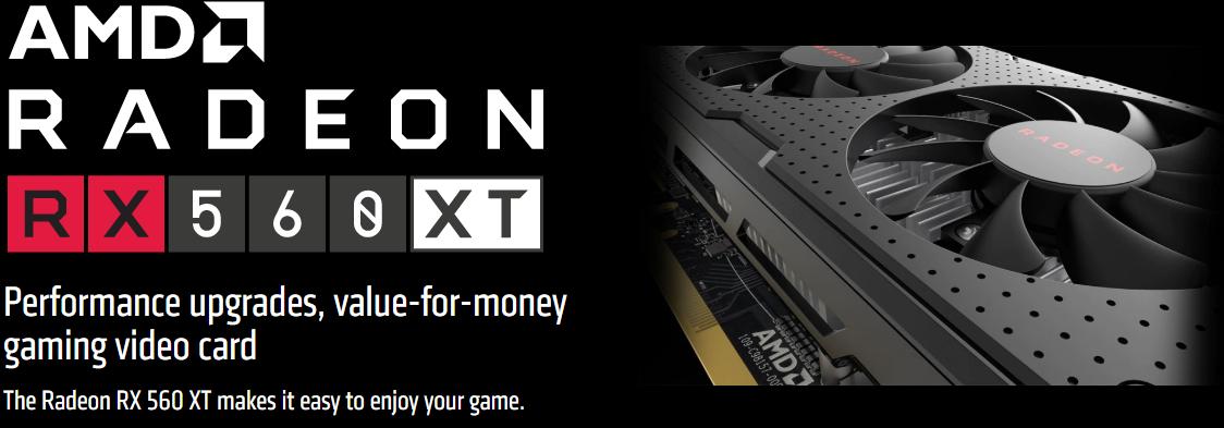 AMD RX 560 XT