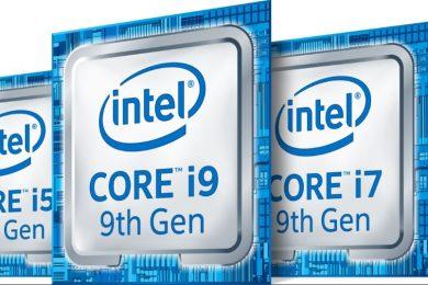 Intel 9th Generation CPUs