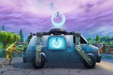 Fortnite Reboot Vans