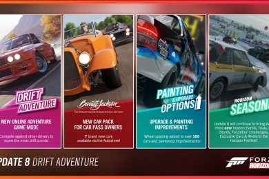 Forza Horizon 4 Series 8 Update