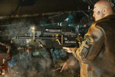 Cyberpunk 2077 Gunplay