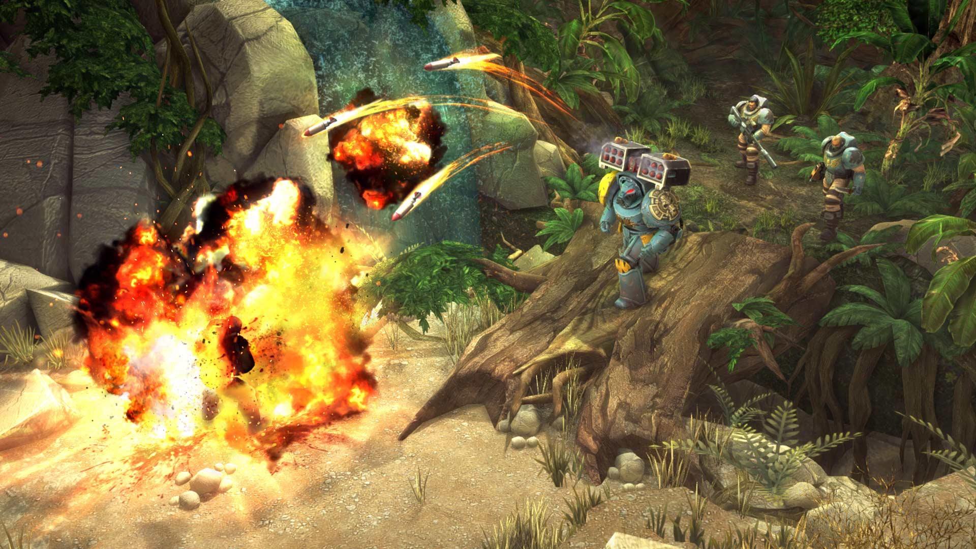 Warhammer Space Wolf Xbox